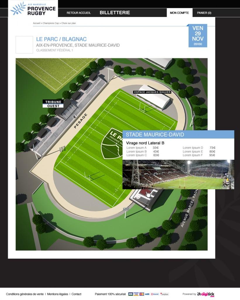Choix sur plan pour Provence Rugby